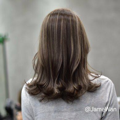 中長微外捲 Jamewan Hair