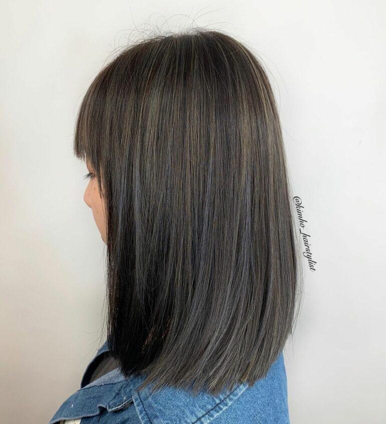 中長簡約風直髮