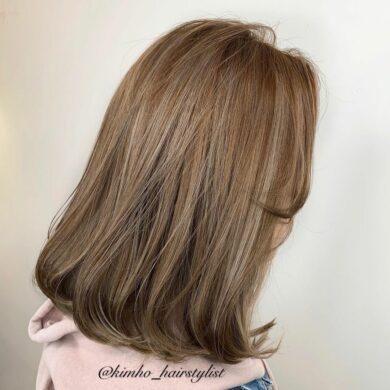 奶茶啡內彎捲 Kimho2.0 Hairstylist