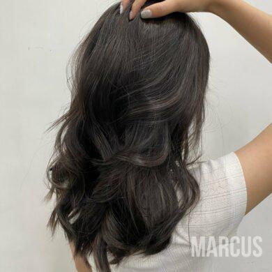 暗黑系女生必染低調髮色 Marcus Hairdesign