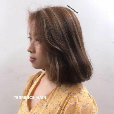柔美弧形內捲短髮 Terrence Hair