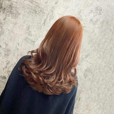氣質橘色雲朵燙 Hair Zarukchan