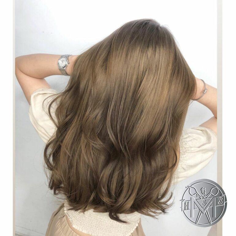 溫暖棕色系長髮