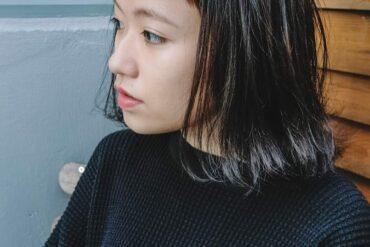 短瀏海立體外捲髮