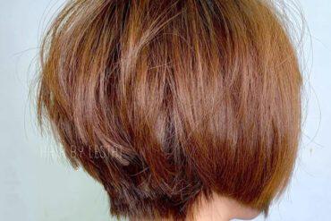 立體感蓬鬆短髮