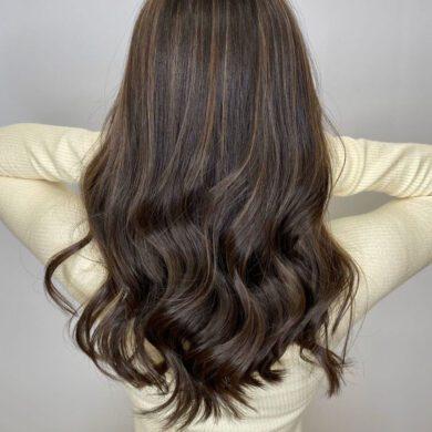 簡單輕盈大波浪 Matt Hair Stylist