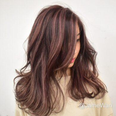 自然波浪捲展魅力 jamewan_hair