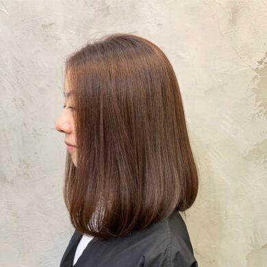 順直內捲長bob Wo Hairdresser