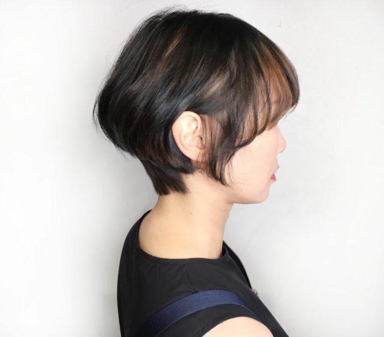 2021必剪空氣感短髮